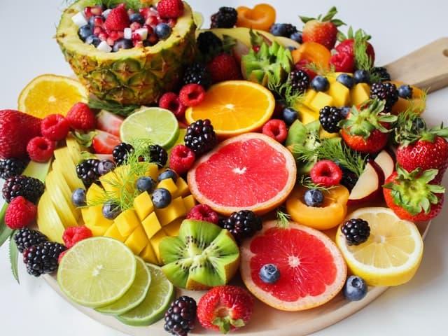 Los alimentos y la piel