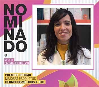 premio mejor farmaceutica productos cosmetica, dermocosmetica maria girones farmacia girones farmatrendy