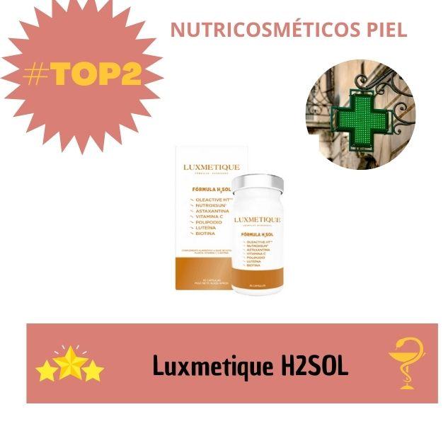 mejores nutricosmeticos para la piel 2021 luxmetique H2 SOL