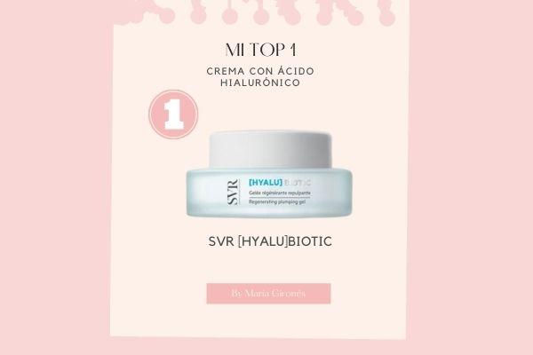 top ranking mejor crema con acido hialuronico de farmacia 2021